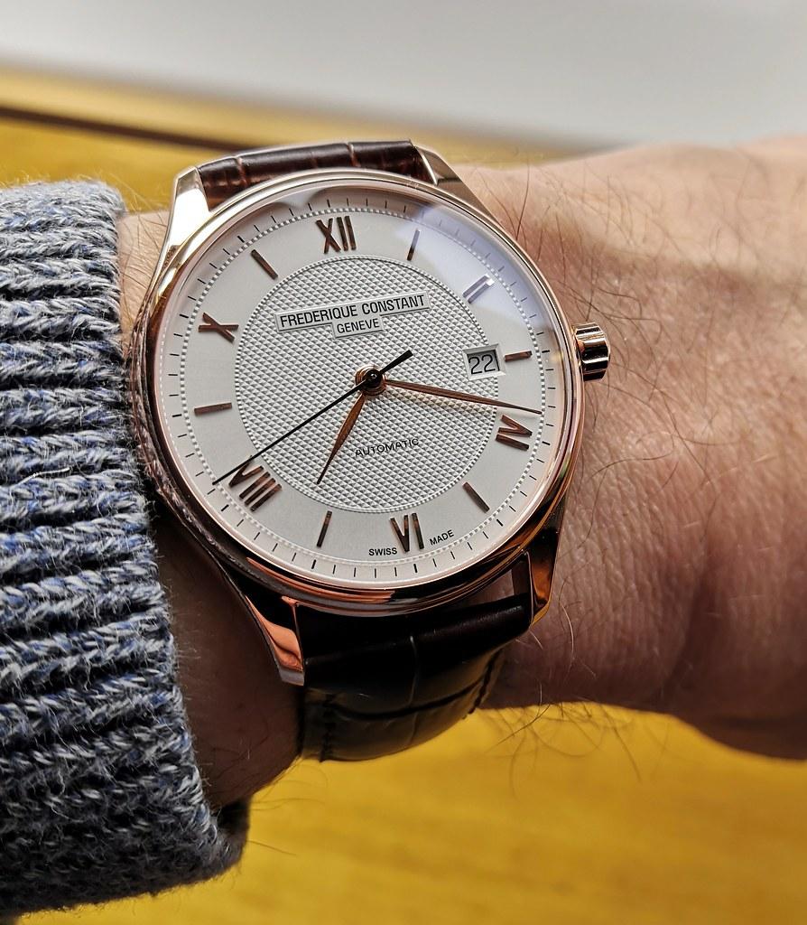 Frederique Constant 'Classic Index Slim'  (Caliber FC-303)