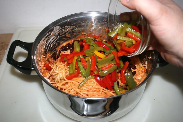 34 - Paprika hinzufügen / Add bell pepper