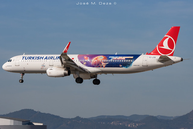 Turkish Airlines A321-231 TC-JTR