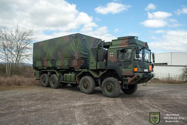 RMMV UTF 8x8 ZLK 15to / Bundeswehr