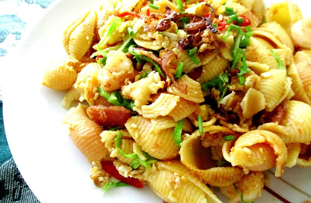 Gluten-free corn & vegetable shells, ckt style