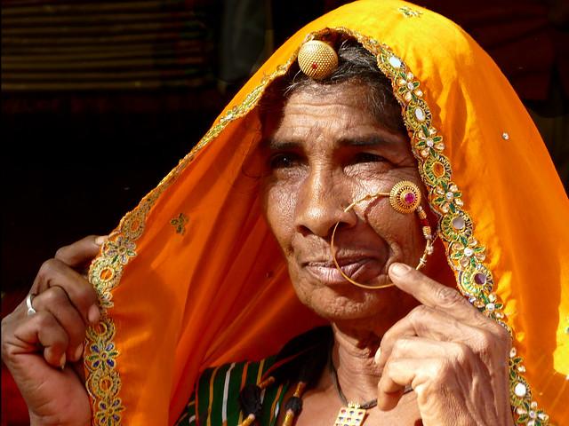 La femme à l'anneau