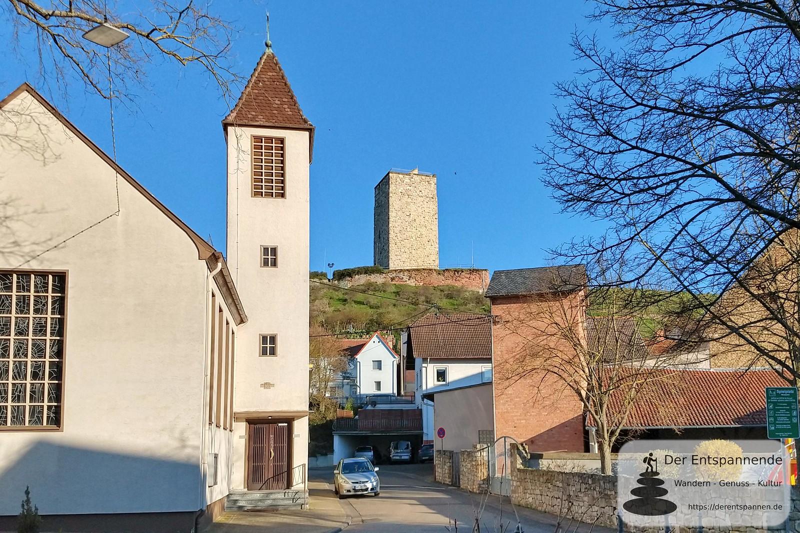 Schwabsburg und sein Burgfried
