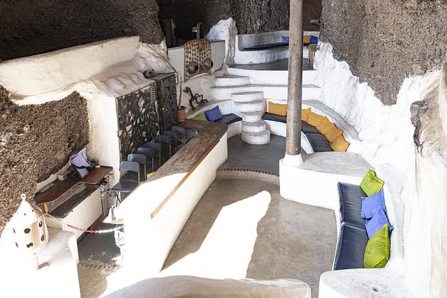Cave Auditorium. Omar Sharif's House, Lanzarote