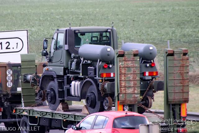 Armée de terre | Mercedes Unimog U400
