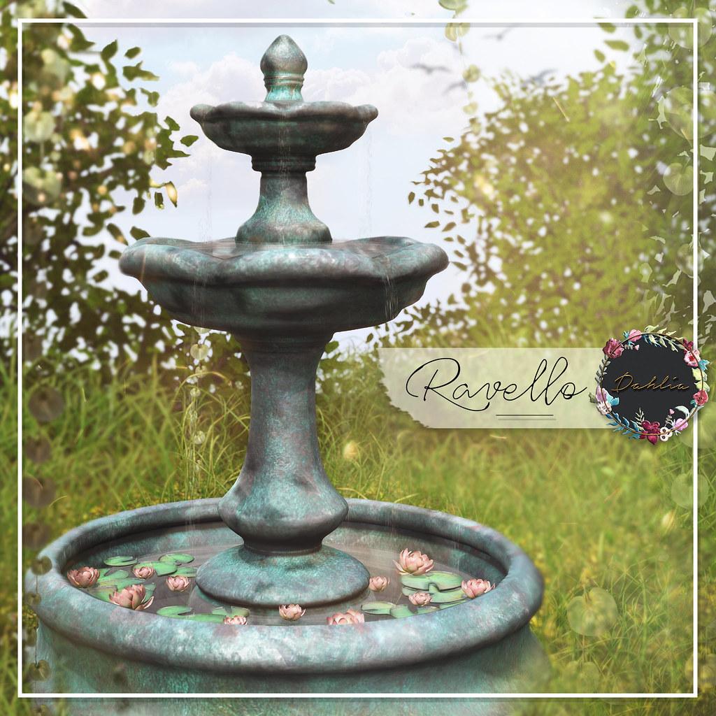 Dahlia – Ravello – Fountain