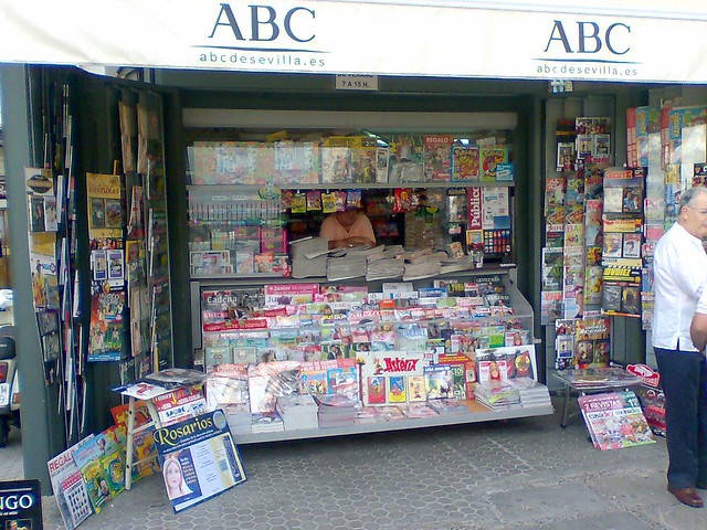 Un kiosco de Sevilla