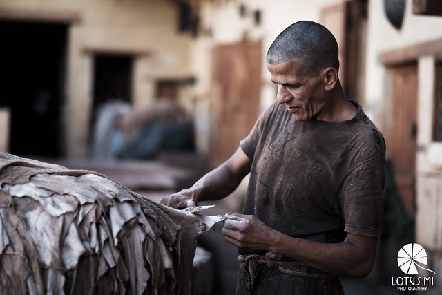 In Tanneries