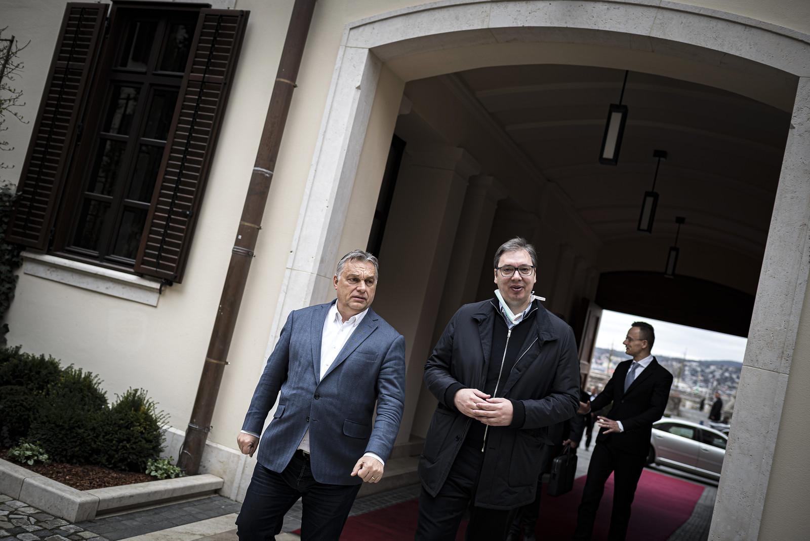 Koronavírus-ügyben tárgyalt a szerb és a magyar elnök