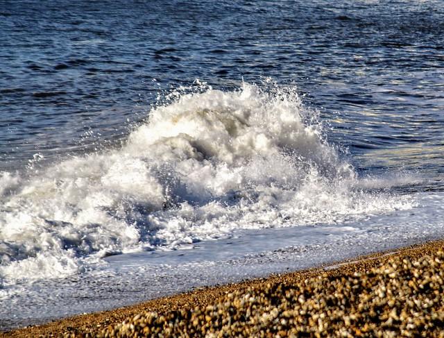 Just a Wave  Seaton Devon UK