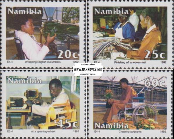 Známky Namíbia 1992 Rovnosť, razítkovaná séria