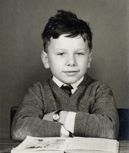 Me, aged about 5 (1959)