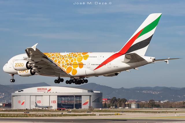Emirates A380-861 A6-EOA