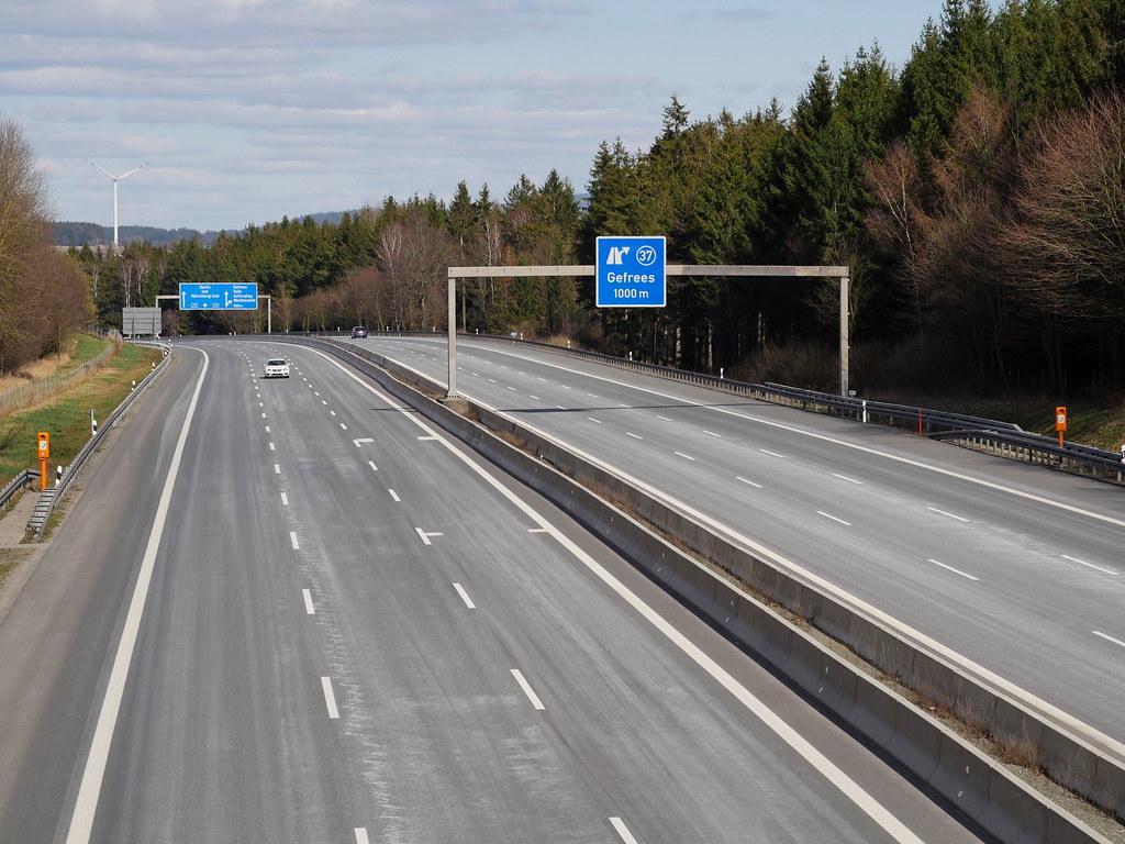 Ausgangssperre Autobahn