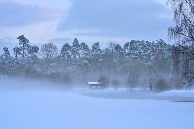 Blue Winter Hour