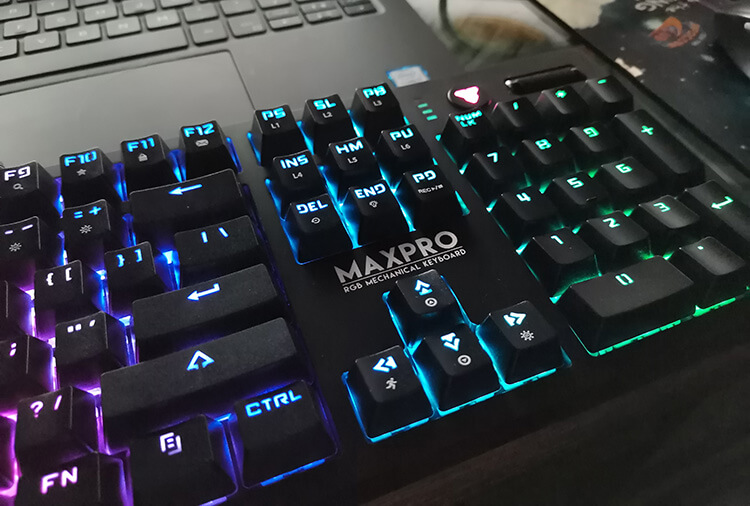 Anti-Ghosting Max Pro MK851 keyboard