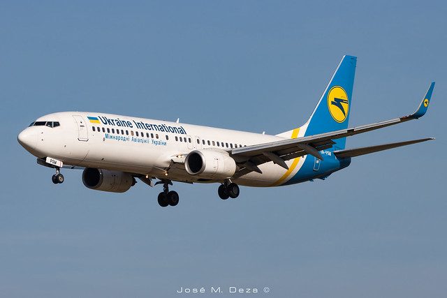 Ukraine International B737-8FZ UR-PSM