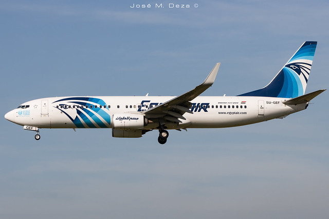 Egypt Air B737-866 SU-GEF