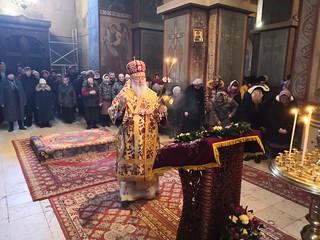 22.03.2020 | Божественная литургия в Софийском соборе