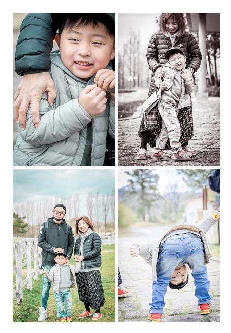 家族写真カメラマンが撮る自然なファミリーフォト ブルーメの丘 滋賀県