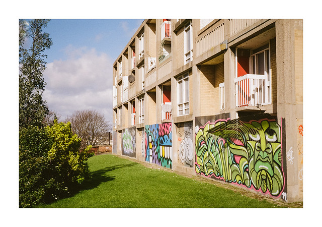 Maisonette graffiti
