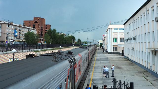 Russian border town of Zabaykalsk