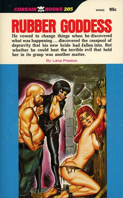 Corsair Books 205 - Lana Preston - Rubber Goddess