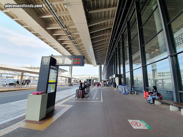 narita airport bus station