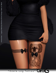 Koala Leg Tattoo [CAROL G]