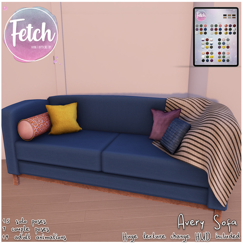 [Fetch] Avery Sofa @ N21!
