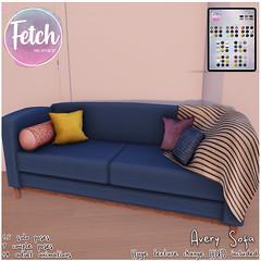 [Fetch] Avery Sofa @ N21!