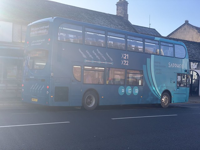 Arriva North East 7526 NK14 GFX (05-03-2020)