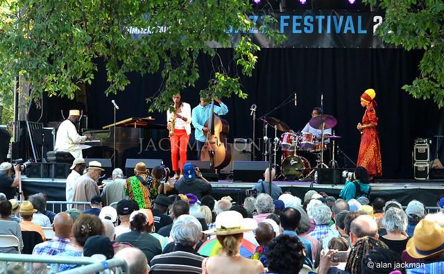 LaKecia Benjamin Quartet, Charlie Parker Jazz Festival
