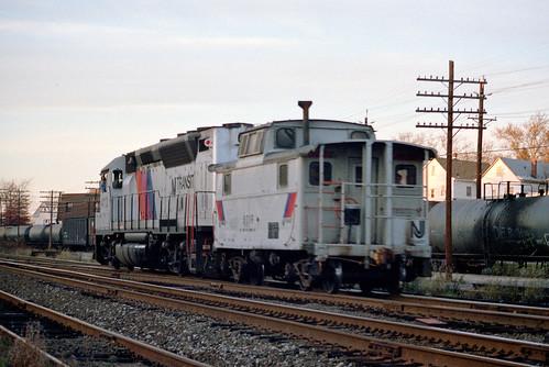 njt njtransit emd gp40ph rutherfordnj rutherfordjunction caboose train railfan railroad