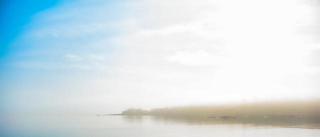 Peninsula in Long Island Sound