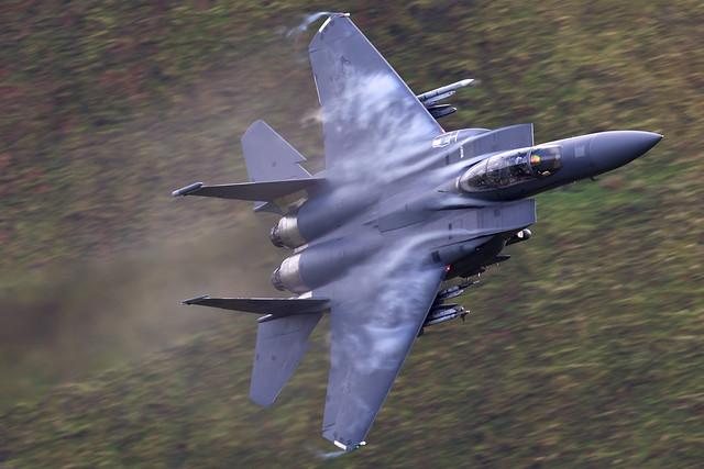 91-0327/494th FS Strike Eagle