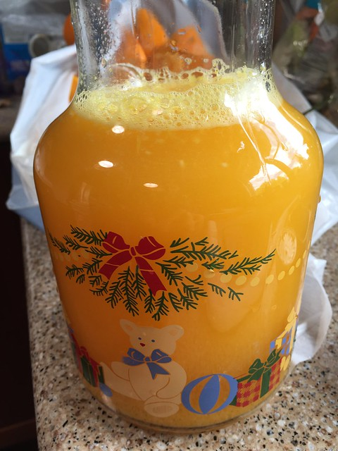 Fresh-squeezed orange juice