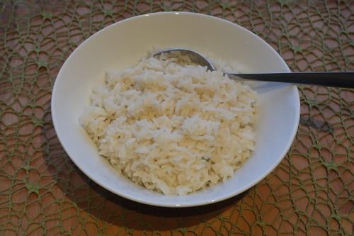 Reis als Beilage