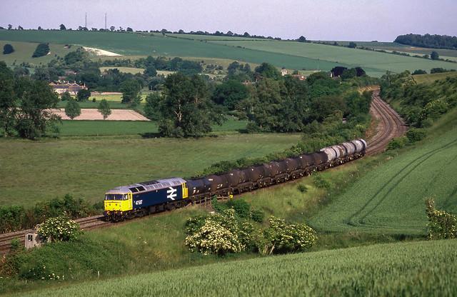 47587 At Great Wishford. 14/06/1988.