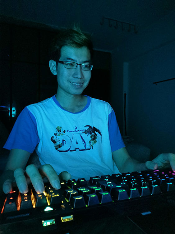 Gaming with Fantech keyboard