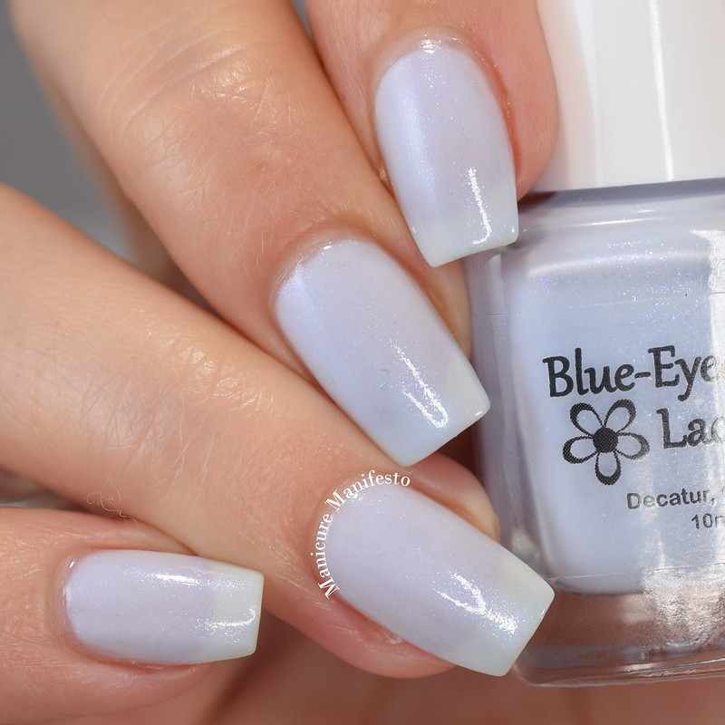 Blue Eyed Girl Lacquer Hydrangea review