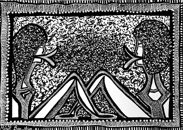 Art in the days of Corona virus by Mirit Ben-Nun