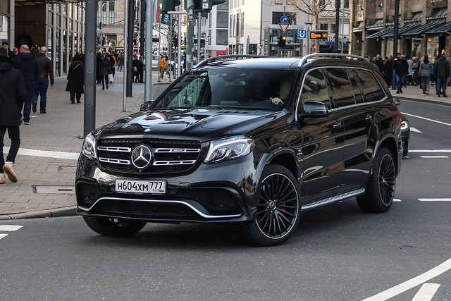 Russia (Moscow) - Mercedes-AMG GLS 63 X166