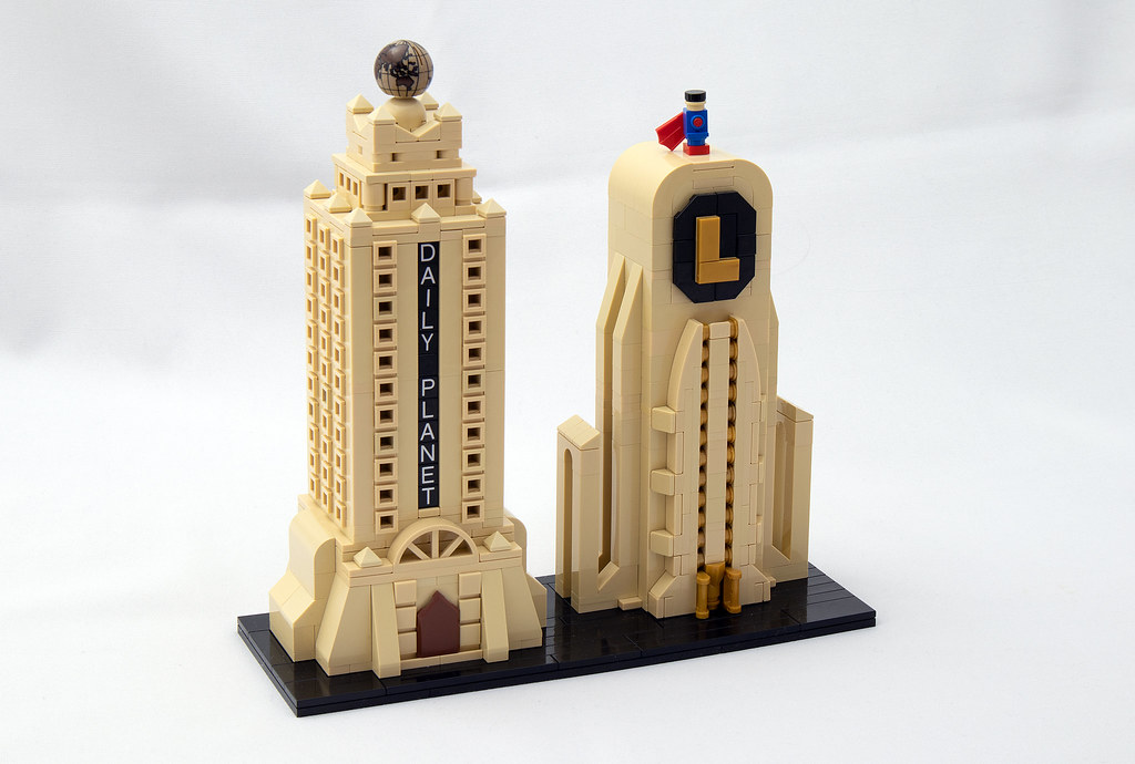 LEGO® MOC by vitreolum: Daily Planet & Lexcorp