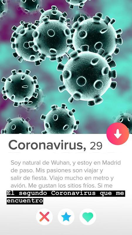 Tinder Coronavirus