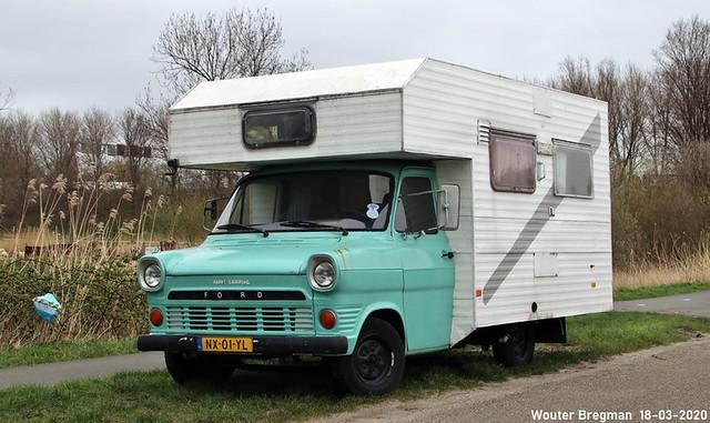 Ford Transit campingcar 1972