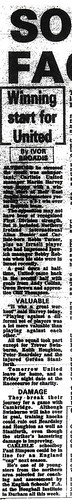 Ipswich V Carlisle 22-7-1980 Match Report | by cumbriangroundhopper