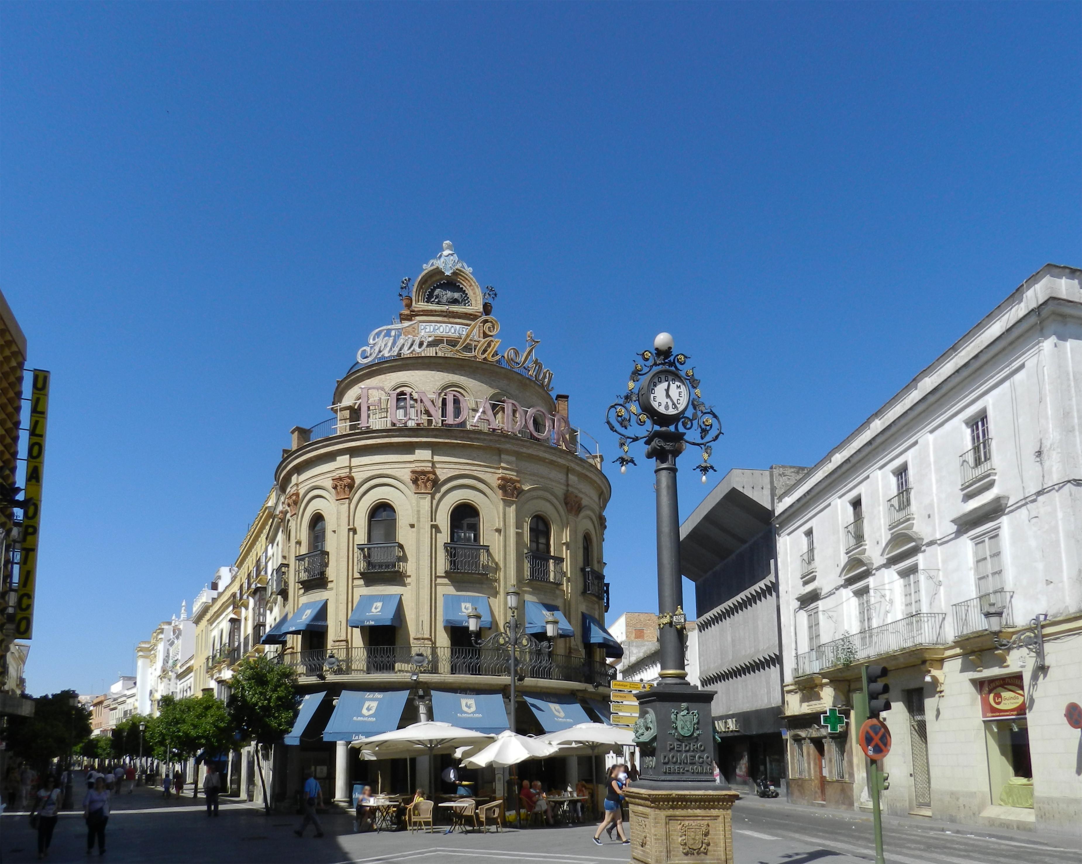 El Gallo Azul edificio historico Jerez de la Frontera Cadiz