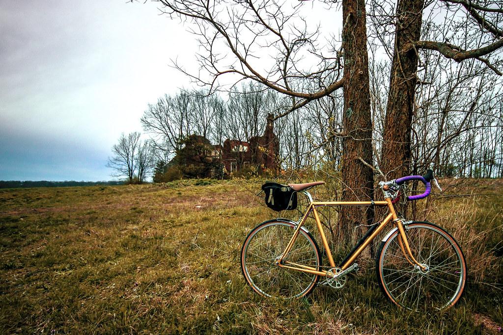 solo ride before the rain