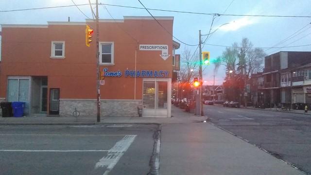 Sone's Pharmacy (2) #toronto #dovercourtvillage #dovercourtroad #hallamstreet #sonespharmacy #streetscape #latergram